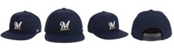 '47 Brand Boys' Milwaukee Brewers Basic Snapback Cap