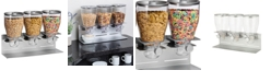 Honey Can Do Zevro by Commercial Plus Triple Canister Cereal Dispenser