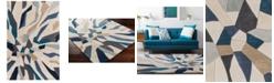 Surya Cosmopolitan COS-9278 Bright Blue 5' x 8' Area Rug