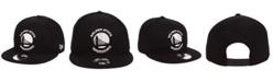 New Era Golden State Warriors Black White 9FIFTY Snapback Cap