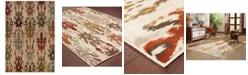 """Oriental Weavers CLOSEOUT!  Casablanca 4437A Ivory/Multi 9'10"""" x 12'10"""" Area Rug"""