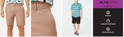 "Alfani Men's AlfaTech Stretch Waistband 9"" Shorts, Created for Macy's"