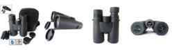 Cosmo Brands Cassini 10 Power X 50mm Waterproof, Fogproof Bak4 Roof Prism Binocular and Case