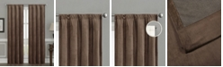 "Silk Home Living Silk+Home Luxury Velvet Blackout Rod Pocket Curtain Panel Pair 52""x95"""