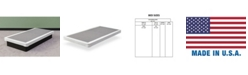 """Payton Fully Assembled Long Lasting 4"""" Box Spring for Mattress, Twin"""