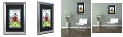 "Trademark Global Jennifer Nilsson Down on the Farm Matted Framed Art - 11"" x 14"" x 0.5"""