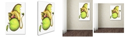 "Trademark Global Jennifer Nilsson Golden Delicious-Dragon Canvas Art - 35"" x 47"" x 2"""