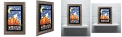 """Trademark Global Jennifer Nilsson Hiding Ghost Ornate Framed Art - 16"""" x 20"""" x 0.5"""""""