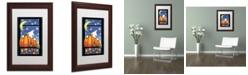 "Trademark Global Jennifer Nilsson Hiding Ghost Matted Framed Art - 11"" x 14"" x 0.5"""