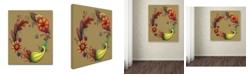 "Trademark Global Jennifer Nilsson Season of Blessings-Autumn Canvas Art - 11"" x 14"" x 0.5"""