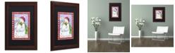 "Trademark Global Jennifer Nilsson Snowballs for Sale Matted Framed Art - 16"" x 20"" x 0.5"""