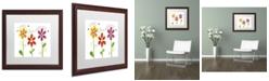 "Trademark Global Jennifer Nilsson Count your Blessings Matted Framed Art - 16"" x 20"" x 0.5"""