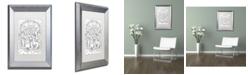 "Trademark Global Jennifer Nilsson Choose to be Happy Matted Framed Art - 11"" x 14"" x 0.5"""