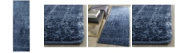 "Safavieh Retro Light Blue and Blue 2'3"" x 7' Runner Area Rug"