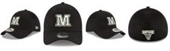 New Era Maine Black Bears Black White Neo 39THIRTY Stretch Fitted Cap