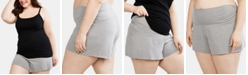 Motherhood Maternity Plus Size Pajama Shorts