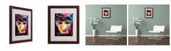 """Trademark Global Dean Russo 'Audrey' Matted Framed Art - 16"""" x 20"""" x 0.5"""""""