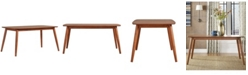 "iNSPIRE Q Larvik Mid-Century Danish Modern Tapered 63"" Dining Table"