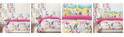 Crayola Flutterby 6 Piece Queen Luxury Duvet Set