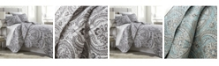 Southshore Fine Linens Pure Melody Lightweight Classic Paisley Quilt and Sham Set, Twin/Long