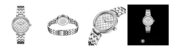 Jbw Women's Gala Diamond (1/5 ct.t.w.) Stainless Steel Watch