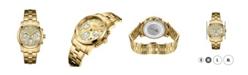 Jbw Women's Alessandra Diamond (1/5 ct.t.w.) 18k Gold Plated Stainless Steel Watch