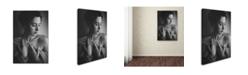 "Trademark Global Jae 'Portrait' Canvas Art - 19"" x 12"" x 2"""