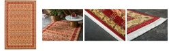 "Bridgeport Home Orwyn Orw3 Red/Tan 10' 6"" x 16' 5"" Area Rug"