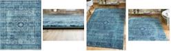 Bridgeport Home Wisdom Wis3 Turquoise 8' x 10' Area Rug