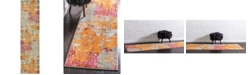 "Bridgeport Home Crisanta Crs1 Multi 2' 7"" x 10' Runner Area Rug"