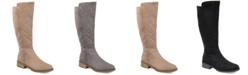 Journee Collection Women's Comfort Blakely Extra Wide Calf Boot