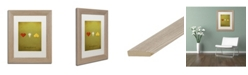 "Trademark Global Christian Jackson 'Oz' Matted Framed Art - 11"" x 14"""
