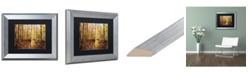 """Trademark Global Jason Shaffer 'Morgan Street' Matted Framed Art - 14"""" x 11"""""""