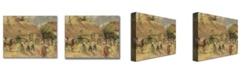 "Trademark Global Camille Pissarro 'The Harvest' Canvas Art - 24"" x 18"""