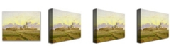 "Trademark Global Caspar Friedrich 'Dawn at Neubrandenburg' Canvas Art - 32"" x 24"""