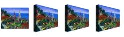 "Trademark Global David Lloyd Glover 'Laguna Niguel Summer' Canvas Art - 24"" x 18"""