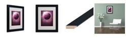 """Trademark Global Christian Jackson 'Jupiter' Matted Framed Art - 14"""" x 11"""""""