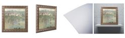 """Trademark Global Claude Monet 'Vetheuil 1901' Ornate Framed Art - 14"""" x 11"""""""