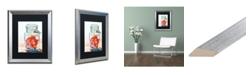 """Trademark Global Jennifer Redstreake 'Ball Jar Ideal Peppers' Matted Framed Art - 16"""" x 20"""""""