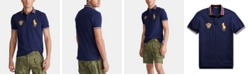 Polo Ralph Lauren Men's Custom Slim Fit Big Pony Mesh Polo Shirt