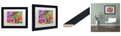 "Trademark Global Dean Russo 'Stegosaurus' Matted Framed Art - 11"" x 14"""