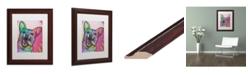 "Trademark Global Dean Russo 'Jack' Matted Framed Art - 11"" x 14"""