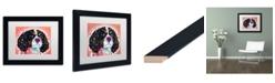"Trademark Global Dean Russo 'King Charles' Matted Framed Art - 11"" x 14"""