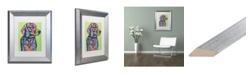 """Trademark Global Dean Russo 'Hank B 19' Matted Framed Art - 11"""" x 14"""""""