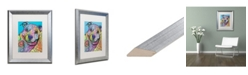 """Trademark Global Dean Russo 'Joe Willie 28' Matted Framed Art - 16"""" x 20"""""""
