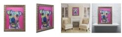 """Trademark Global Dean Russo 'Rosa 23' Ornate Framed Art - 11"""" x 14"""""""