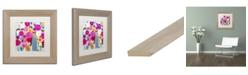 """Trademark Global Carrie Schmitt 'Where Love Resides' Matted Framed Art - 11"""" x 11"""""""