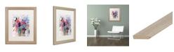 """Trademark Global Carrie Schmitt 'Fresh Bouquet' Matted Framed Art - 16"""" x 20"""""""