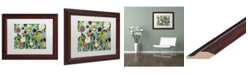"Trademark Global Carrie Schmitt 'Soul Blossoms' Matted Framed Art - 11"" x 14"""