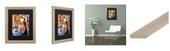 "Trademark Global Natasha Wescoat '017' Matted Framed Art - 16"" x 20"""